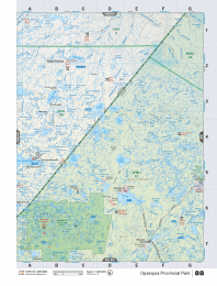 NWON88 TOPO - Opasquia Provincial Park