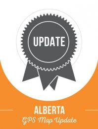 Update - Alberta Backroad GPS Maps (60% discount)