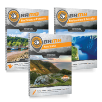 Atlantic Canada Backroad Mapbook Bundle