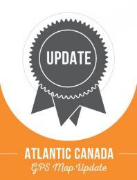 Atlantic Canada Backroad GPS Maps - 1 Year Update