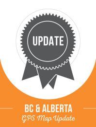 BC & Alberta Backroad GPS Maps Update