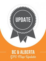 Update - BC & Alberta Backroad GPS Maps (60% discount)