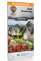 East Kootenay - BC Waterproof Recreation Map