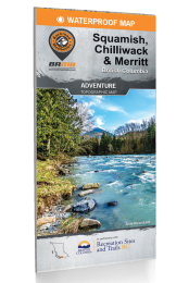 Squamish, Chilliwack & Merritt BC Waterproof Map