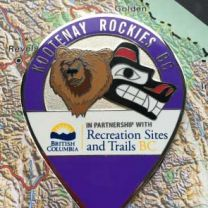 Kootenay Rockies BC Geocoin