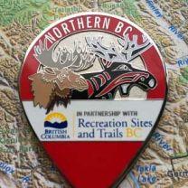 Northern BC Geocoin