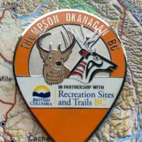 Thompson Okanagan BC Geocoin