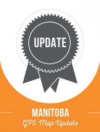Update - Manitoba Backroad GPS Maps (60% discount)