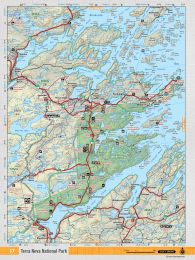 NFLD37 TOPO - Terra Nova National Park