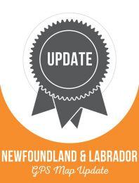Update - Newfoundland & Labrador Backroad GPS Maps (60% discount)