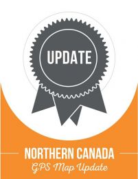 Update - Northern Canada Backroad GPS Maps (40% discount)