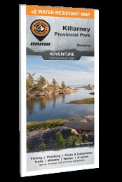 Killarney Provincial Park Map Ontario
