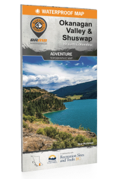Okanagan Valley & Shuswap - BC Waterproof Recreation Map