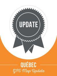 Update - Quebec Backroad GPS Maps (60% discount)