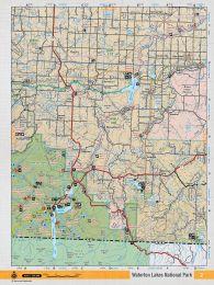 SOAB2 TOPO - Waterton Lakes National Park