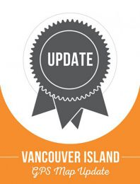 Update - Vancouver Island BC Backroad GPS Maps (60% discount)