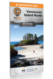 Vancouver Island North - BC Waterproof Recreation Map