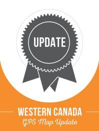 Update - Western Canada Backroad GPS Maps (40% discount)