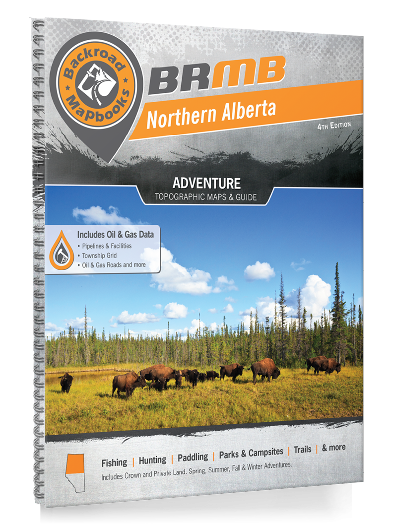 Northern Alberta Backcountry Maps