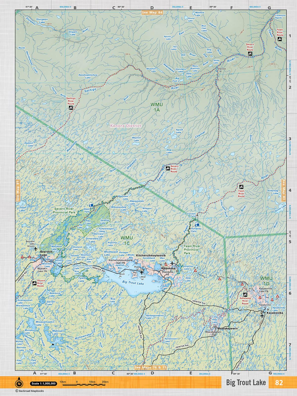 Nwon82 Topo Big Trout Lake